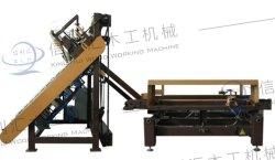 木製パレット固定機木製パレット装置自動木材製製粉パレットブロック圧縮成形機 / 木製脚の毛先湯機製材機