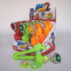 En haut de lumière avec des bonbons jouets Jouets et de bonbons