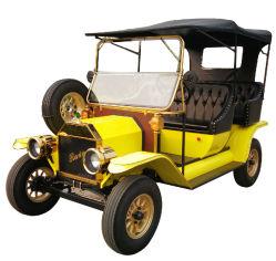 De Nieuwe Auto die van de fabriek de Uitstekende Auto van de Toerist van de Kar van het Golf Retro Klassieke bezienswaardigheden bezoeken