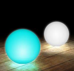 30cm LED 라운드 볼, Rotomolded 빛난 색깔 변화 LED 다채로운 공 빛, 수영풀을%s 무선 원격 제어 LED 라운드 볼