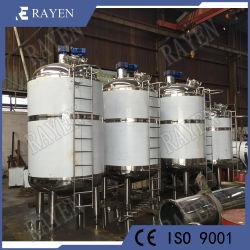 En acier inoxydable de 200 gallons Industrical chimique pharmaceutique Pression de colle double isolant chemisé pour récipient pour fermentation Réacteur de mélange de stockage