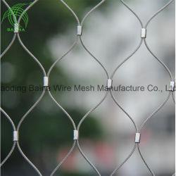Malla de alambre de acero inoxidable Teleférico de detección y protección de la Guardia Noria Net