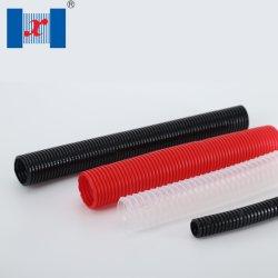 Tuyau ondulé en plastique Hnx Nylon PA conduit de câble souple