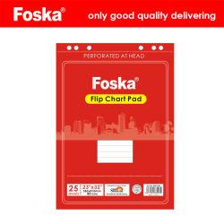 Le nouvel élément Foska 80GSM Flip Chart Tampon de papier