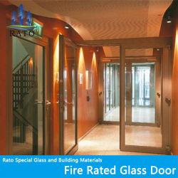 30mins、60mins、90mins、120minsはガラスドア、ステンレス鋼ガラスのドアを耐火性にする