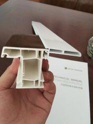 開き窓シリーズWindowsかドアを作り出すための建築材料のプロフィールUPVC /PVC