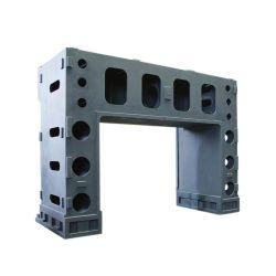 fundição em areia de fundição de ferro fundido de grandes peças de máquinas-ferramenta, Coluna Vertical torno da máquina