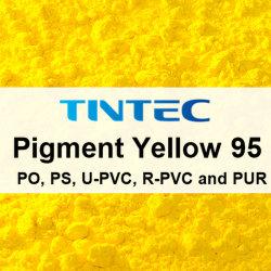 Pigment jaune 95 organique pour le plastique (d'Azo condensation)