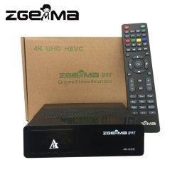 Zgemma H9T avec DVB-T2/C Tuner hybride récepteur UHD 4K