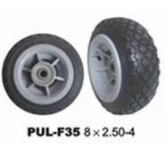 """Плоские бесплатно 10""""X350-4 ПЕНА PU колеса тележки и погрузчик используется колеса"""
