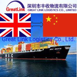 Internationale Seefracht von China nach Belfast/Liverpool, Großbritannien
