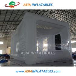 이동식 워크스테이션 PVC 타포린 자동차 팽창식 스프레이 페인트 캐비닛