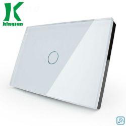 Smart APP inalámbrica WiFi Inicio Control de la pared interruptor táctil