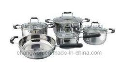 Edelstahl9pcs cookware-Set