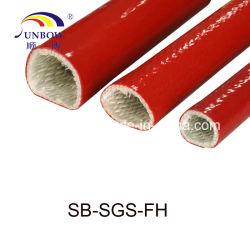 Gaine en fibre de verre Heat-Resistant manchon coupe-feu