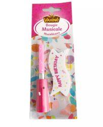 Nuova candela di Musical di buon compleanno