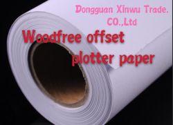 65gsm, papel de marcador de Plotter branco com preço acessível