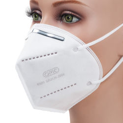 FFP1, FFP2 de 5 camadas Anti máscara de poeira respirador KN95 N95 Máscara de protecção civil com Earloop
