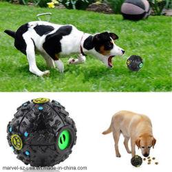 Haustier-Hundetraining Kauen-Ton-Nahrungsmittelzufuhr-quietschende Kugel-Haustier-Kauen-Spielwaren