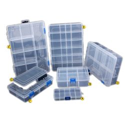 Les écrous de bits de cellules Bijoux Portable Boîte à outils contenant la vis de bague de percer les perles composant électronique de boîte à outils de stockage