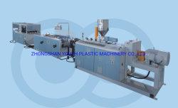 4 Kammern Belüftung-Kabeltrunking-Profil-Extruder-Maschine Belüftung-Kabelrohr/Kanalisierung, die maschinelle Herstellung-Zeile bildet