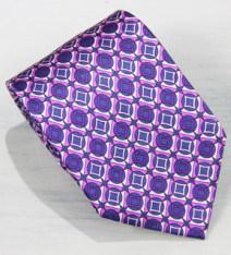 L'écran de luxe imprimé Cravate Cravate en soie 100%