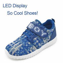 Hot Vente de chaussures Clignotant LED Magic Strip Light Mini LED flexible Bluetooth Message Board pour les chaussures Hat Vêtements P2-5X25F