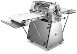 Venta caliente panadería automático de la mesa de rodillos Sheeter automático de la masa comercial precio