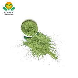 Dieta verde com certificação BPF alimentos ricos em fibras dietéticas Super food Erva de trigo orgânico em pó