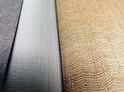 Weißer Polyester-Baumwollineinander greifen-Tuch-Osnaburg-Webart-Gewebe Wallcovering Baumwollstoff