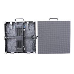 P3.91 de alta resolución de Fundición a presión en el interior de la pared de vídeo LED