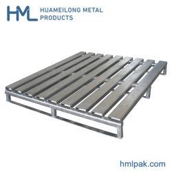 Euro trasporto industriale pesante di memoria del magazzino che impila i pallet d'acciaio del metallo da vendere