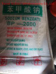 99% порошка E211 Benzoic кислоты раствор соли натрия Китай Benzoate соли