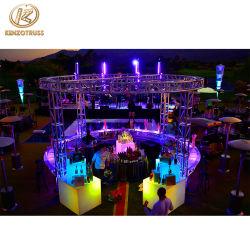 Comptoir de bar en aluminium portable système Truss pour Night Club/Parti/réception