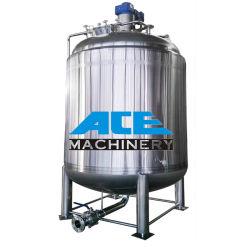 500 L de aço inoxidável para depósito de mistura vertical Shampoo Loção Corporal do tanque de mistura de pressão de perfume de gel