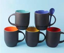 カラー変更の陶磁器のスプーンのマグ、昇華のための工場販売の魔法のマグ、高品質のスプーンのマグ