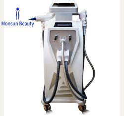 4 in 1 entscheiden Shr IPL Nd YAG Laser HF-Haar-Abbau u. Haut-Verjüngung Multifuctional Schönheits-Maschine