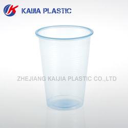 8oz 240ml使い捨て可能なPPのプラスチックネオンスカイブルーのコップ