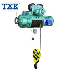 Ampliamente utilizado Txk 1 tonelada de CD1 polipasto de cable eléctrico