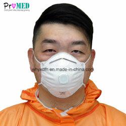 ISO13485 zugelassenes FFP1, FFP2, FFP3, Respirator des Staubes N95 mit Ventil