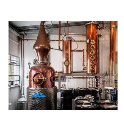 Vodka industriale industriale della vodka del distillatore del vino dell'alcool del distillatore della frutta della casa del fabbricante di birra del distillatore industriale dell'alcool