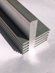 Espulsione di alluminio industriale di profilo per il dissipatore di calore e l'illuminazione del LED