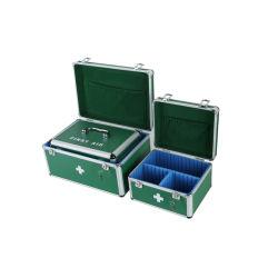 医療用ハード救急車形状アルミニウムファーストエイドキットボックス(付き 金属製ハードウェア