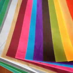 100% Polyester Microfaser Stoff mit bunten Massivfarbe tun Bettwäsche / Sofa Bezug/Matratze/Vorhang