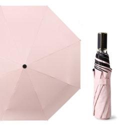 China la fabricación de paraguas de protección solar UV recubierto negro sombra sombrilla paraguas