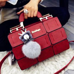 Saco vermelho moda populares Senhoras Mala com super preço baixo