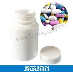 약 플라스틱 용기 병 약제를 위한 포장 애완 동물 HDPE 백색 공간 15ml/20ml/60ml/100ml 환약 플라스틱 병 캡슐 콘테이너 약병