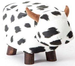Животных коровы стул прочный деревянный ног мебель для детей