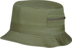 Nova construção Polyester Ampla Caçamba a bordo rasante Hat com bolso Zip