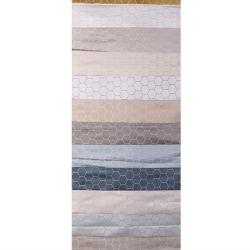 آخر خطوط الجاكار الجاكار chiffon النساء الملابس النسائية نسيج خطوط ثلاثية الأبعاد قطعة قماش ناعمة من الحرير اللامع من قماش الجاكار